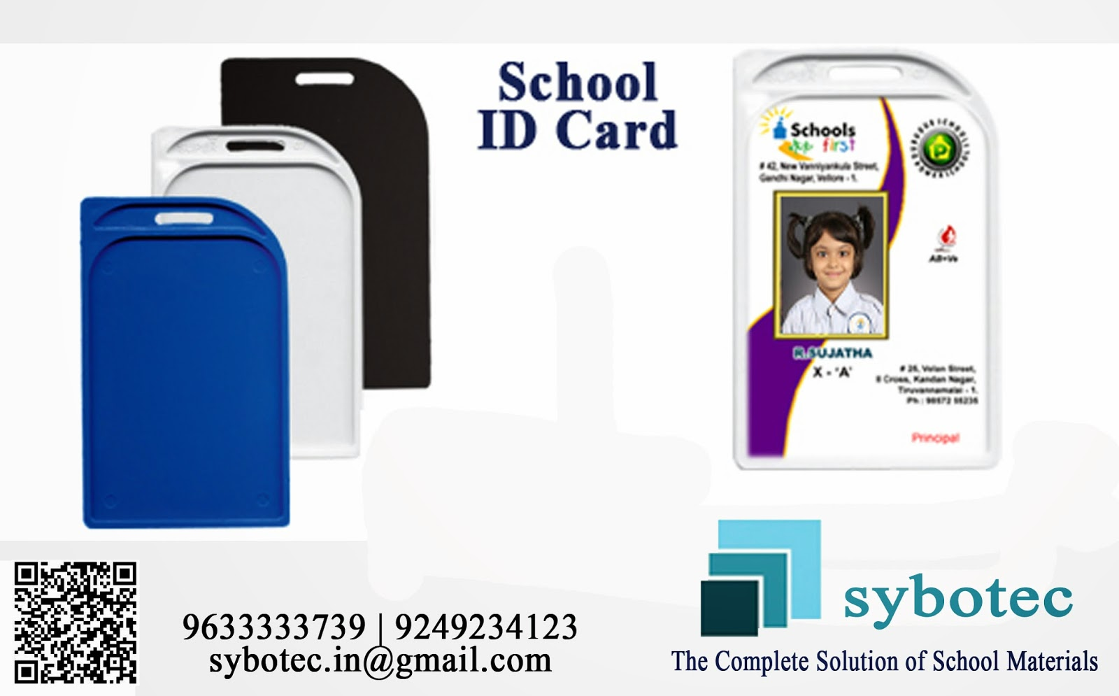 School, Collage and Corporate office ID CARDS : ID Card for School ...