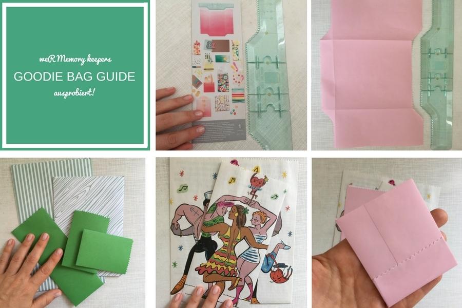 Tüten gemacht mit dem WeR Memory Keepers Goodiebag Guide