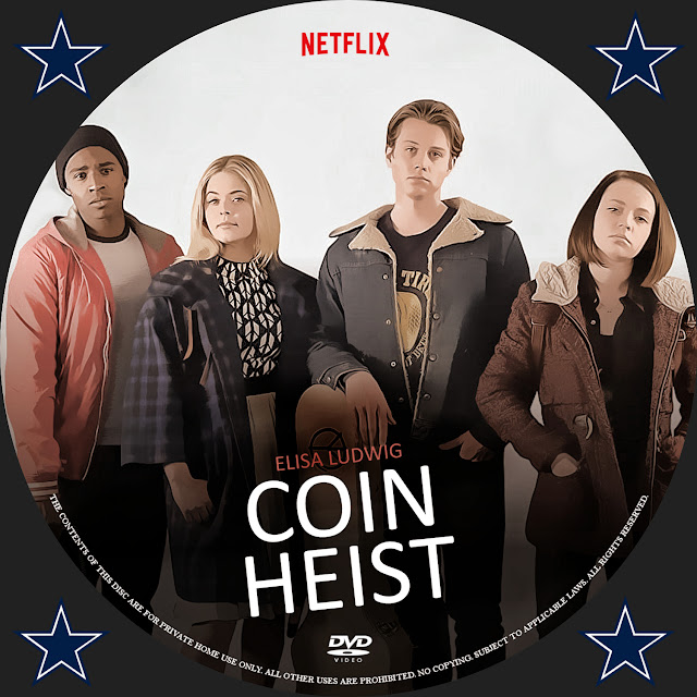 Coin Heist DVD Label