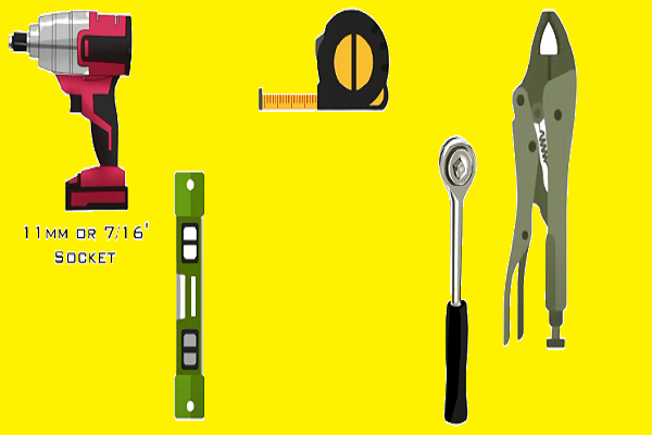 Materials that must be prepared for installation