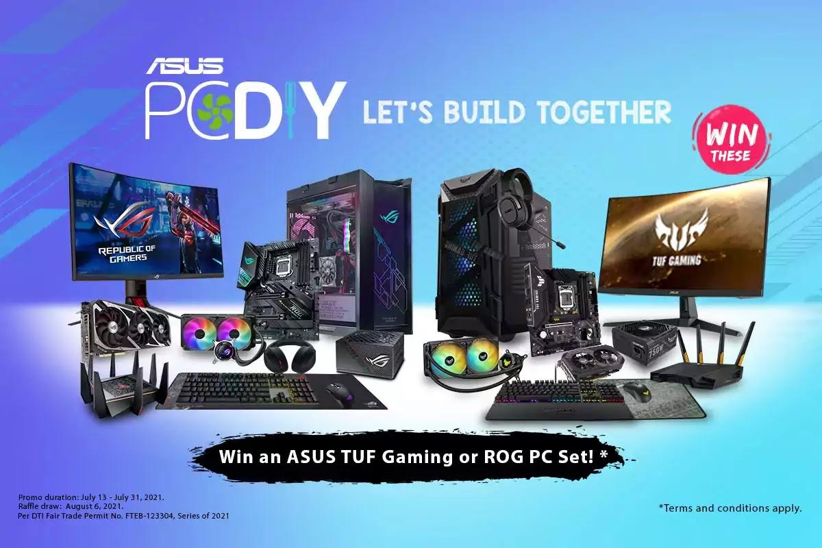 ASUS PC DIY Campaign Raffle