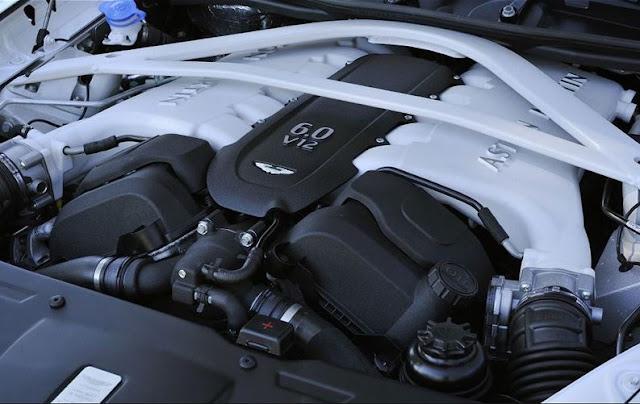 2017 Aston Martin Rapide S  Engine