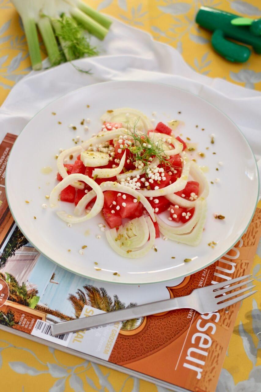 Rezept Melonen-Fenchel-Salat