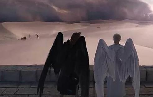 Série: Anjo e demônio se unem para procurar o Anticristo e evitar o apocalipse