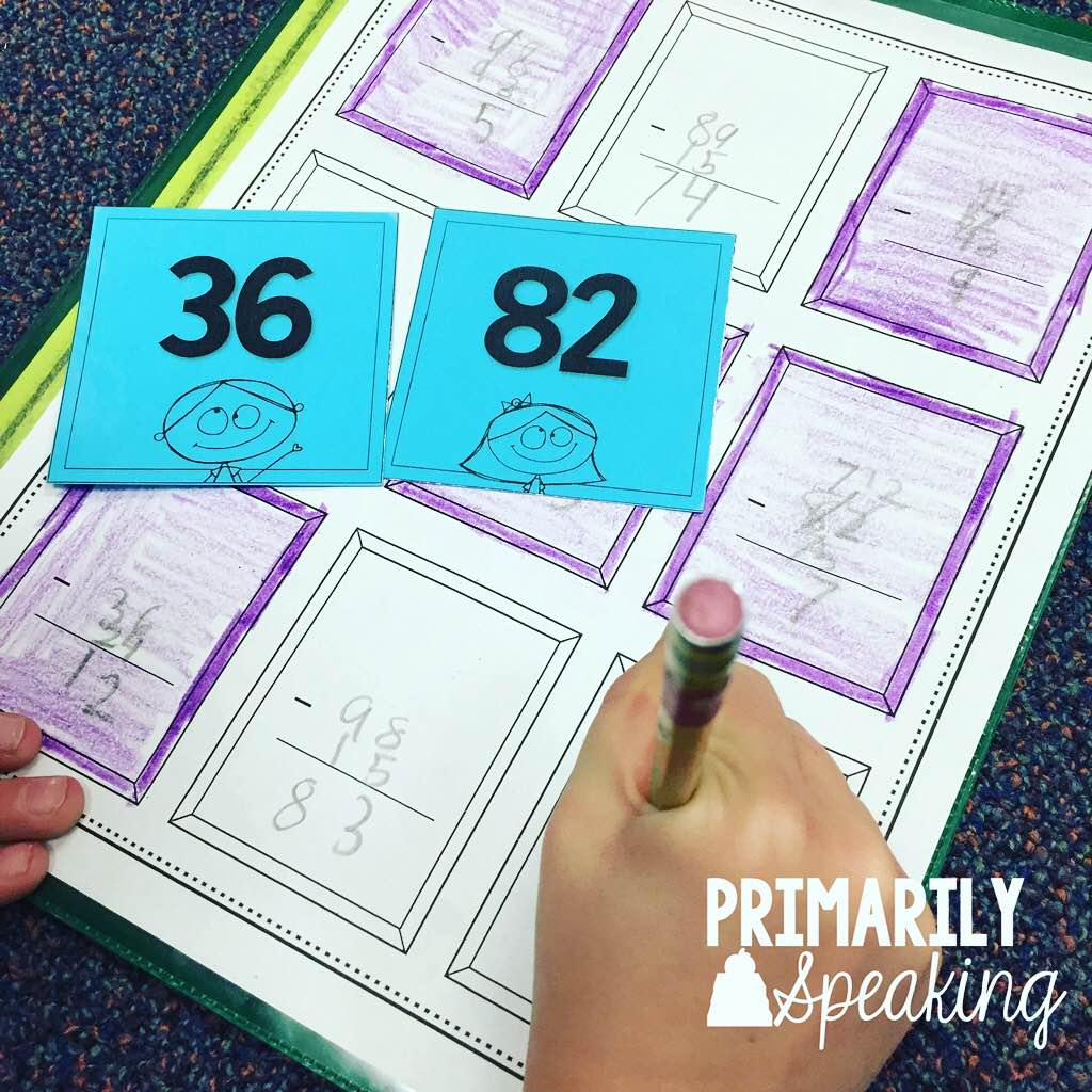 Math Subtracting Various Multi Digit ratio and rates worksheets