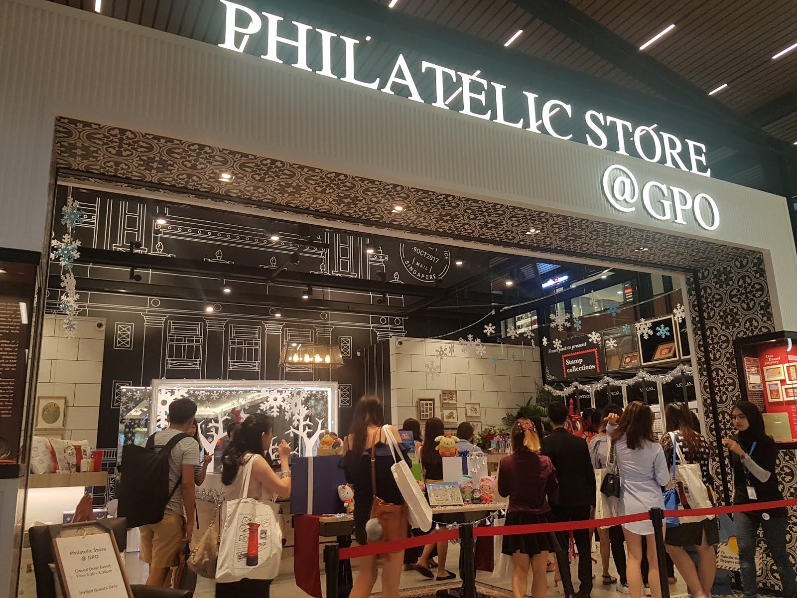 Philatelic Store @GPO Bringing You Christmas Cheers - Jiahui