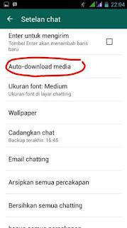 Whatsapp Boros Kuota Data Internet ini Cara Hemat Kuota wa / WhatsApp