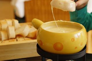 receita de fondue com queijo