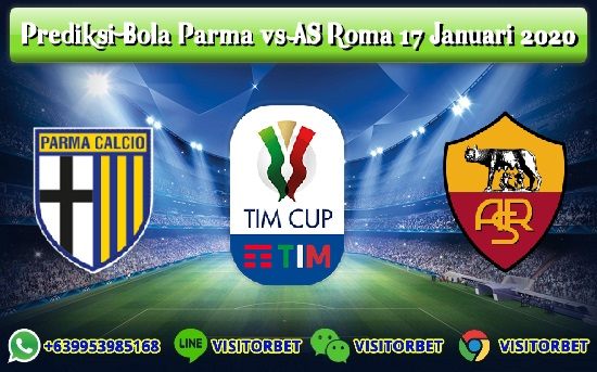 Prediksi Skor Parma vs AS Roma 17 Januari 2020