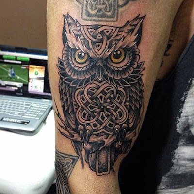 What Do Owl Tattoos Represent? - Ink Chronic tattoo