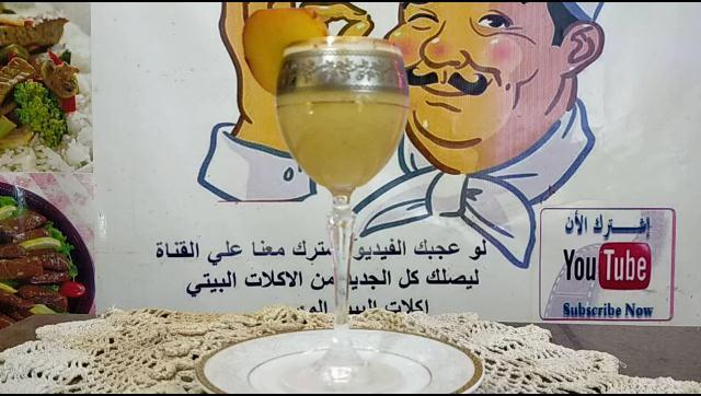 عصير الخوخ الطبيعى بألذ مذاق رائع الشيف محمد الدخميسي