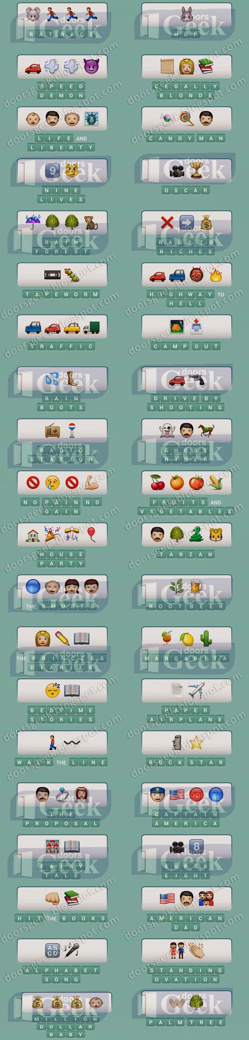 Emoji Pop [Level 26] ~ Doors Geek