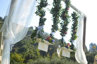 allestimento matrimonio ecologico
