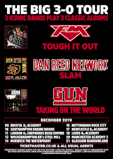 FM + Dan Reed Network + Gun - UK Tour - December 2019