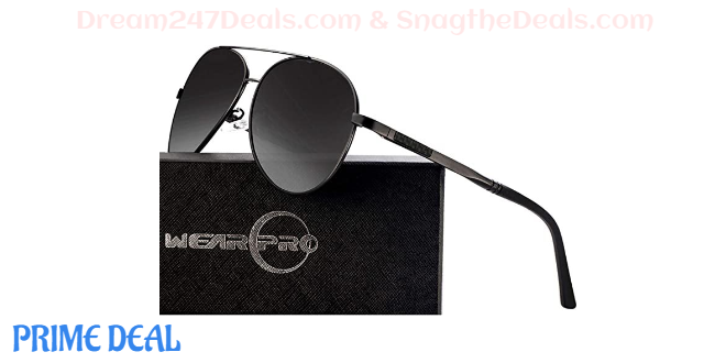 55% OFF Polarized  Sunglasses  for  Men  and  Women  -Retro  Polarized  Mens  Classic  sunglasses