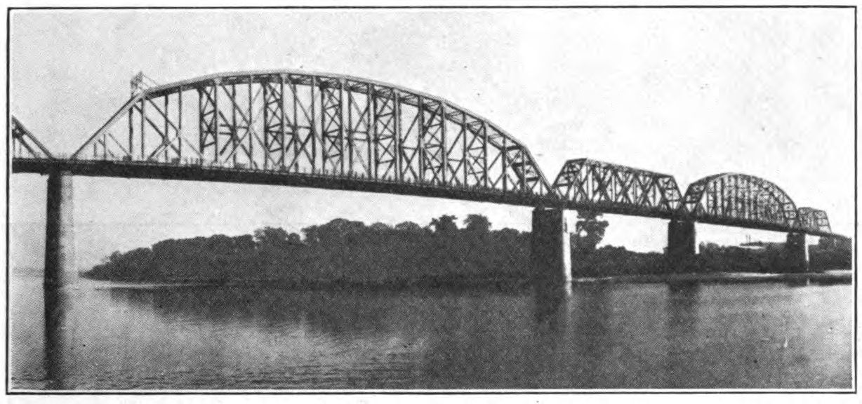 Used Cars Louisville Ky >> Industrial History: Kentucky and Indiana Bridge over Ohio River at Louisville, KY