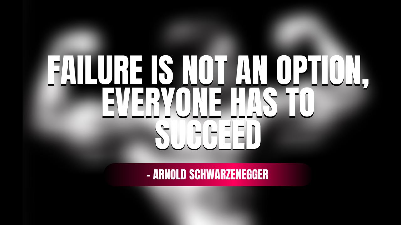 Arnold Schwarzenegger Quotes Wallpaper