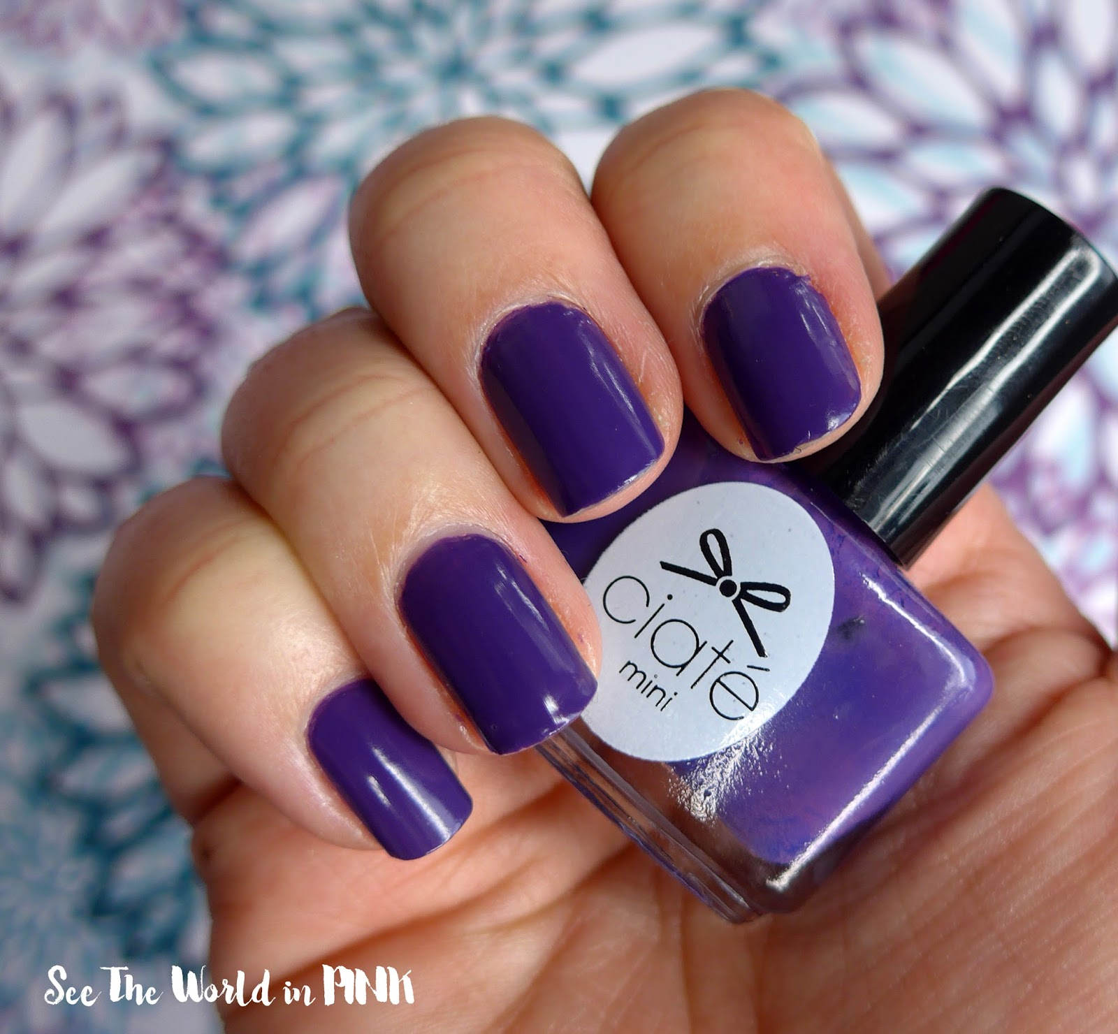 Manicure Tuesday - Colour of the Year Ultra Violet Nails!