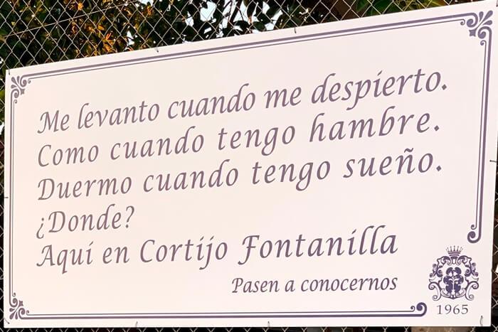 lema cortijo fontanilla