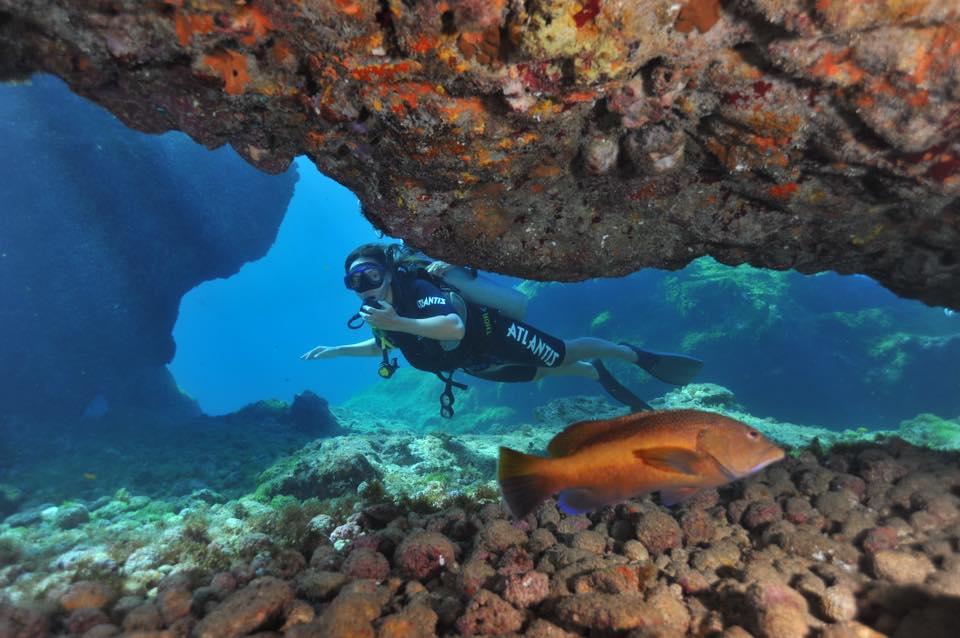 mergulho da Erika Lettry 2