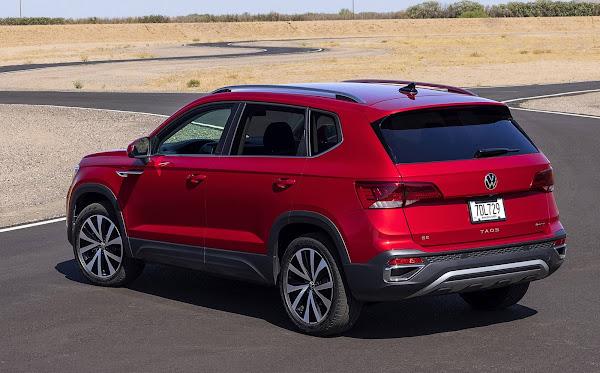 Volkswagen Taos 2022 4Motion AWD: fotos oficiais divulgadas