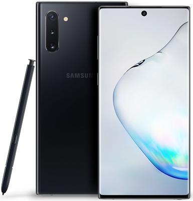 Samsung Galaxy Note10+: panel Dynamic AMOLED QHD+ de 6.8'' con configuración de cámaras cuádruples
