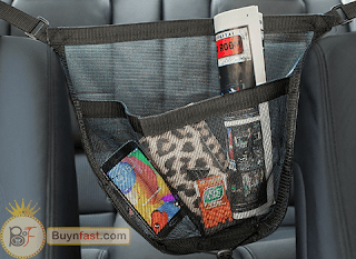 Review: Purse Caddy Car Accessory Storage Pouch Organizer By OxGord - Universal Fit for Car