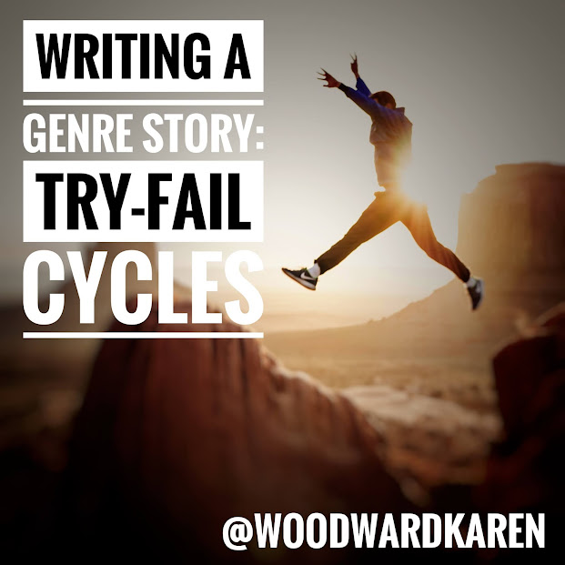 Writing a genre story: Try-Fail Cycles