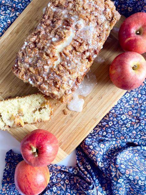 Apple Fritter Donut Bread
