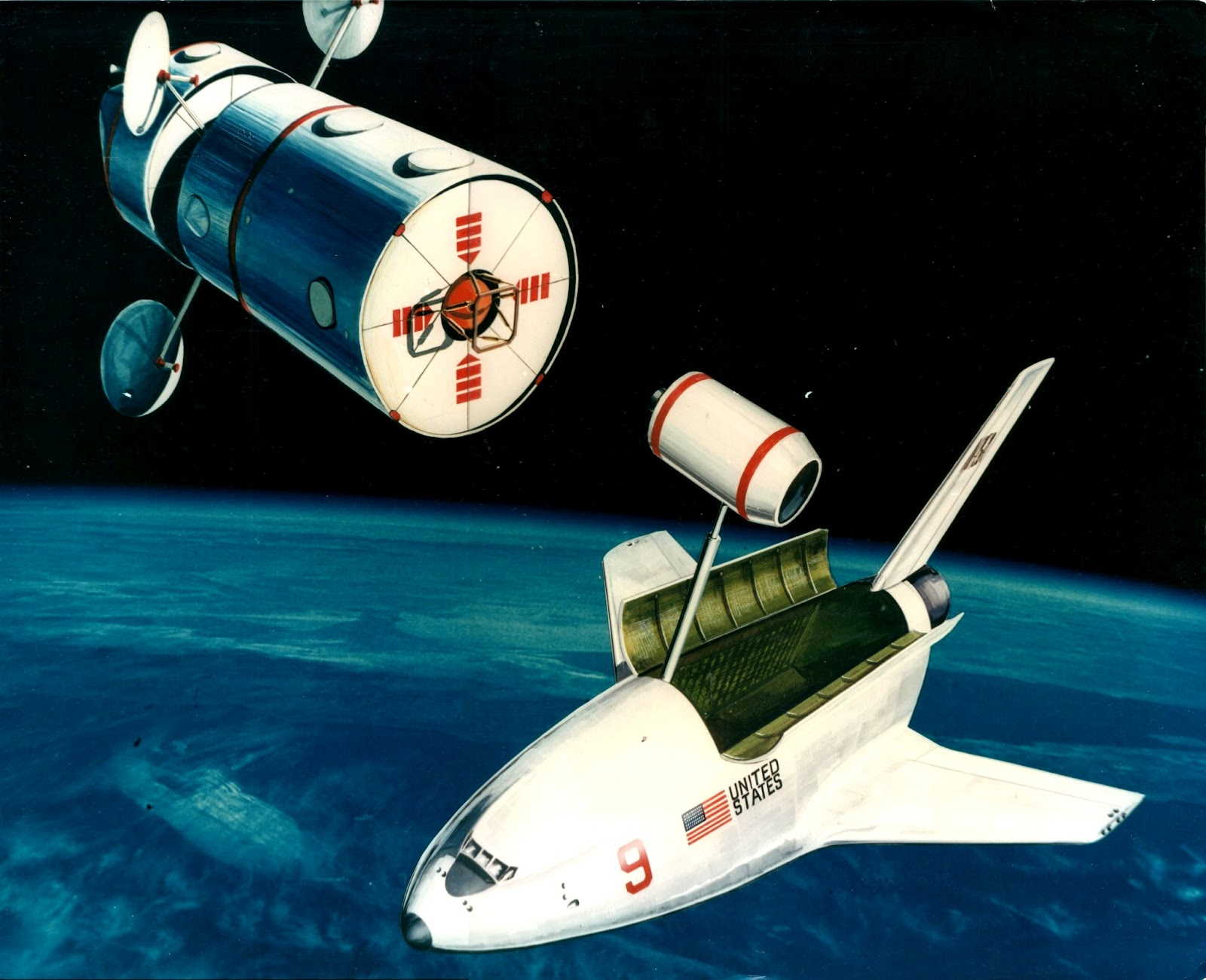 My Space Museum Early Space Shuttle Concept Art