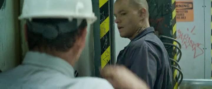 Screen Shot Of Elysium (2013) English Movie 300MB Short Size PC Movie
