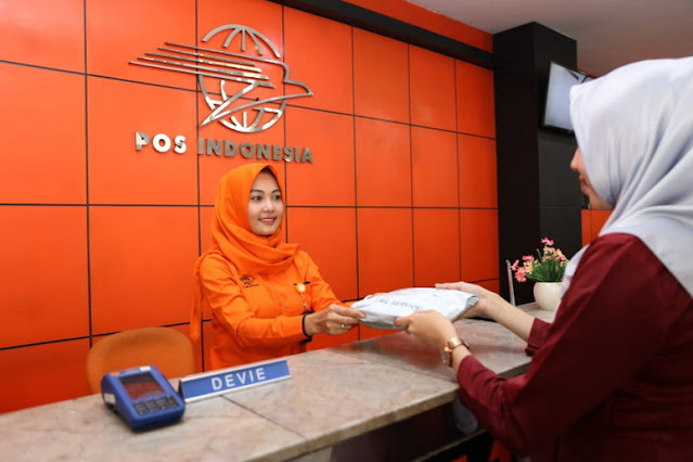 Pelayanan konsumen Kantor Pos Indonesia
