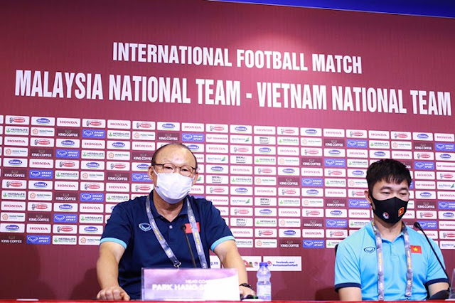 HLV Park Hang Seo muốn học trò vào trận bằng ý chí lạnh lùng trong cuộc so tài với Malaysia