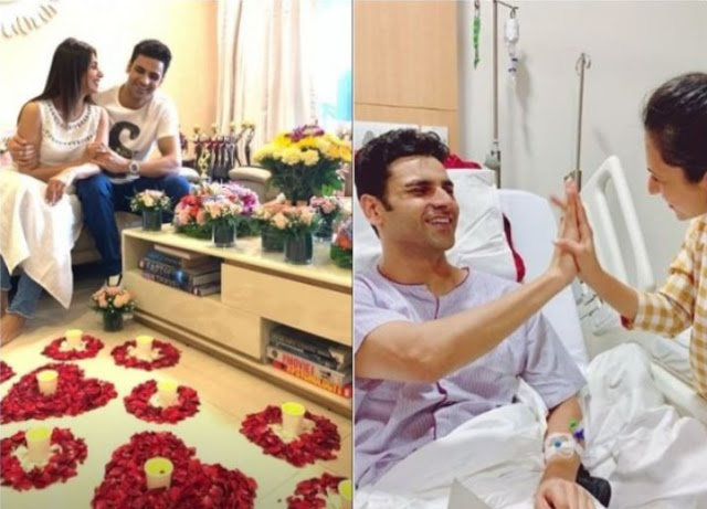 WOW! Divyanka Tripathi Welcomes Hubby Vivek Dahiya Home In The Most Romantic Way As He Gets Discharged From Hospital!