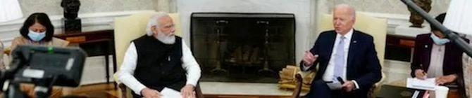 Pak Role In Afghanistan, Terrorism Raised at Quad, PM-Biden Meet: India