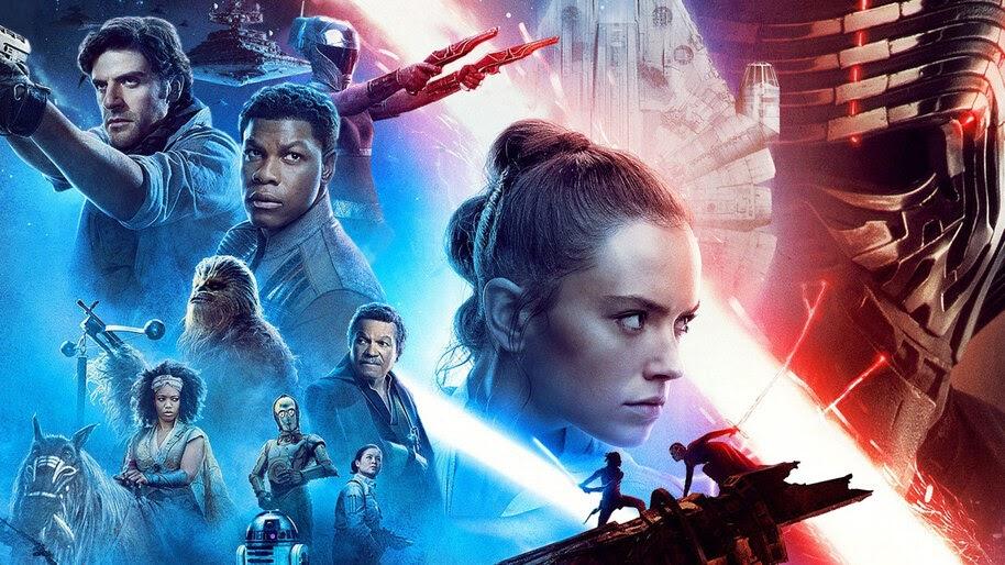 Star Wars The Rise Of Skywalker Movie Poster 4k Wallpaper 7 554