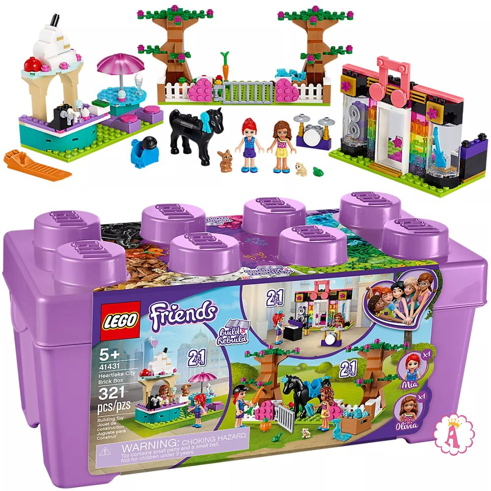 Новинка LEGO Friends Heartlake City Brick Box 41431