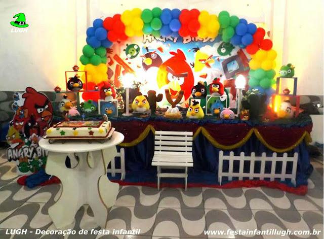 festa Angry Birds - decoração infantil