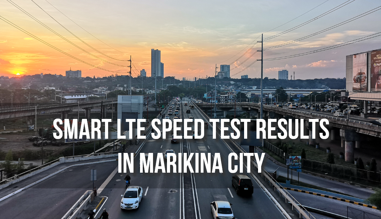 Smart LTE Marikina, Marcos Highway
