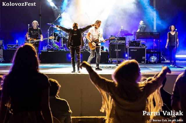 U Opatiji je započeo Kolovoz Fest nastupom Parnog Valjka. Foto: Borna Ćuk 20.08.2021
