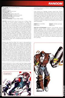 Random Ficha Marvel Comics