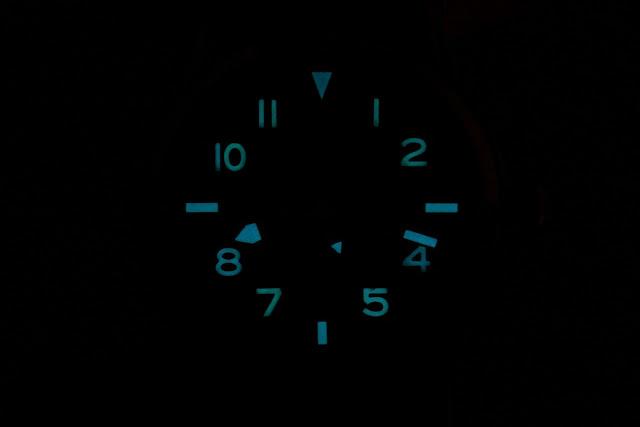 Cincinnati Watch Co. P-40M Mechanical lume