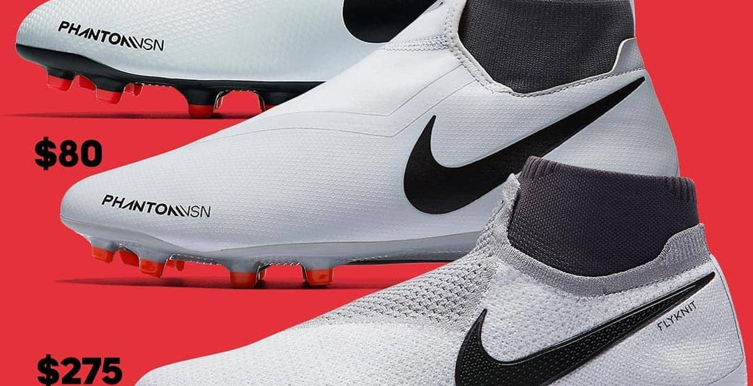 Thee wont be an indoor version of the high-end Nike Phantom Vision Elite  (there are also indoor versions of the Nike Phantom VSN Academy  Club).