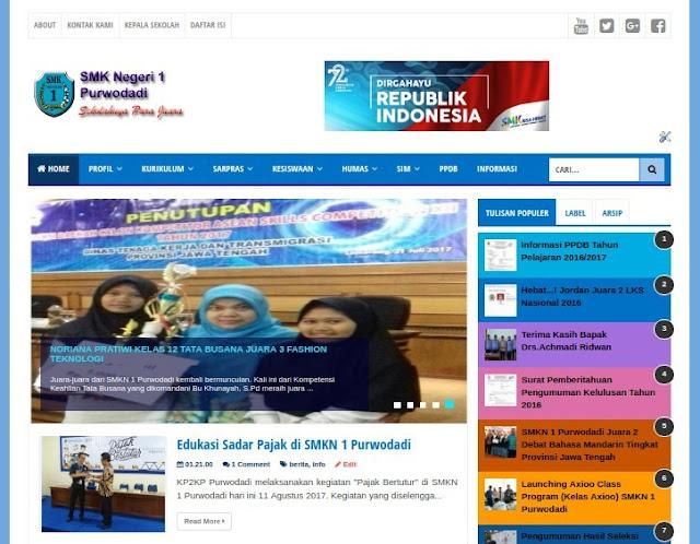 SOP Pengelolaan Website Sekolah