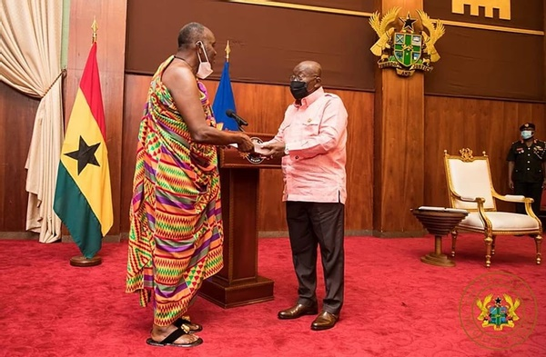 Akufo-Addo names 11 Council of State appointees