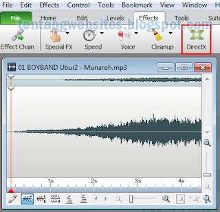 Cara mudah menambah echo pada MP3
