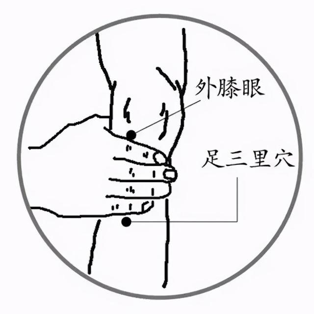 人體的七大要穴,常按摩益身心(強身)