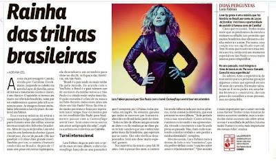 Scam: Lara Fabian (Fanpage oficial)