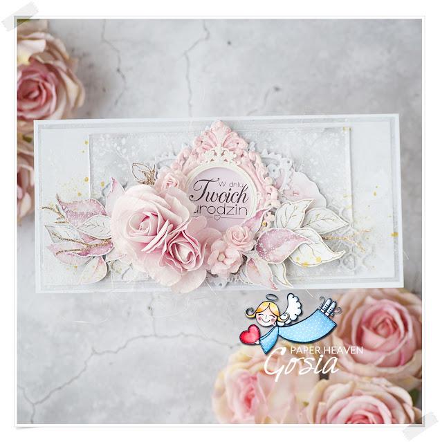 Urodzinowa kartka z różami