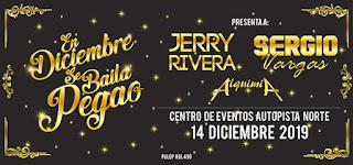Fiesta de fin de año con ALQUIMIA, Jerry Rivera y Sergio Vargas